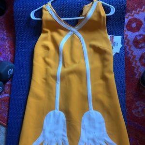 Women's Victoria Beckham yellow tulip dress